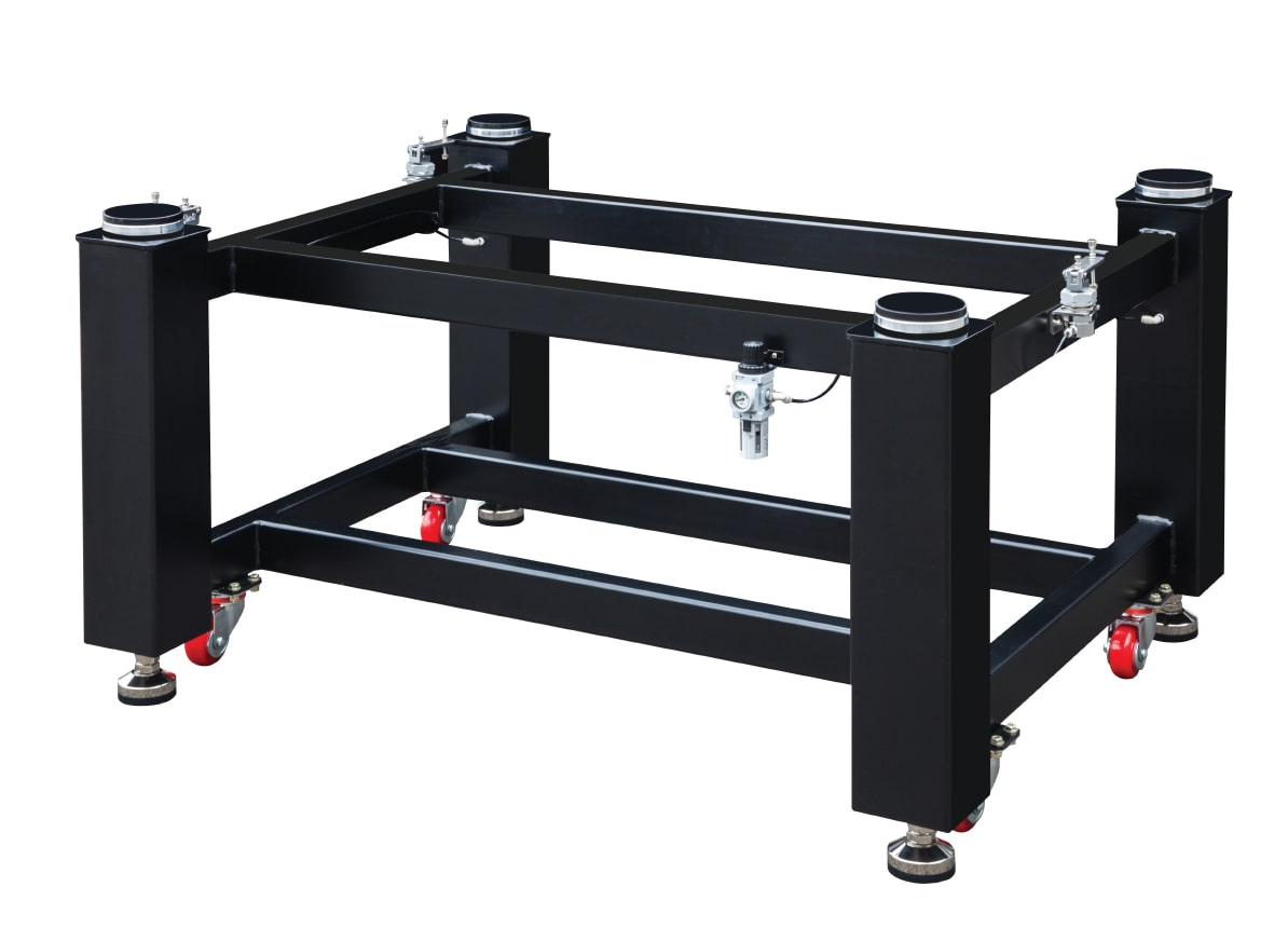 Pneumatic-Support-with-Tie-Bars-and-Casters