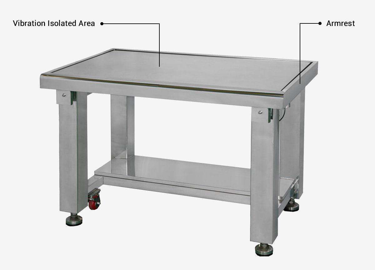 DVID-C-Cleanroom-Vibration-Isolation-Workstation