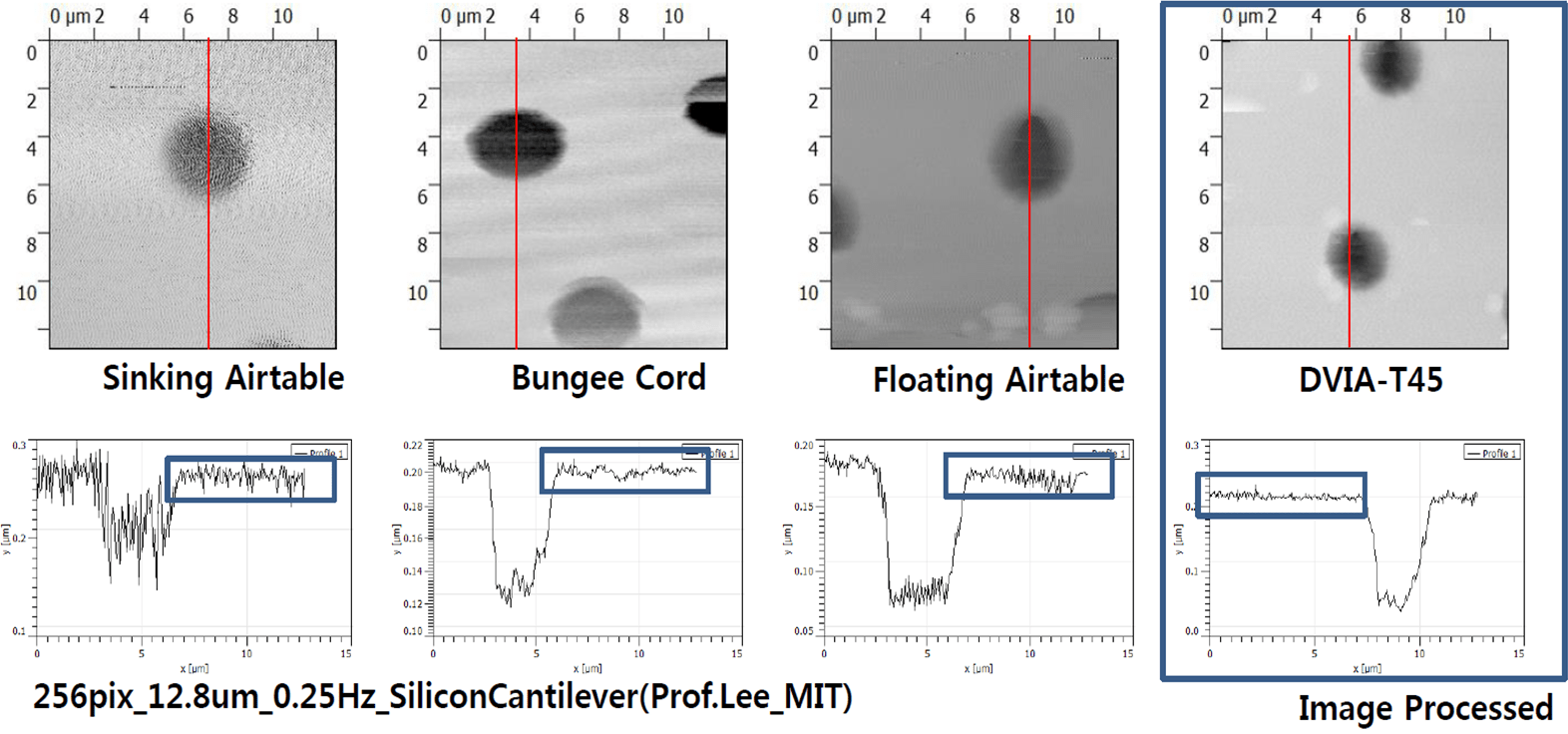 Imaging_TEST_in_Different_Substrate(Silicon_Cantilever)